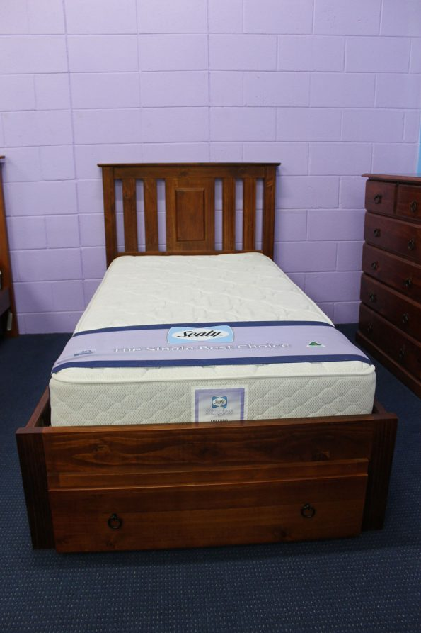 INDEE BED & DRAWER