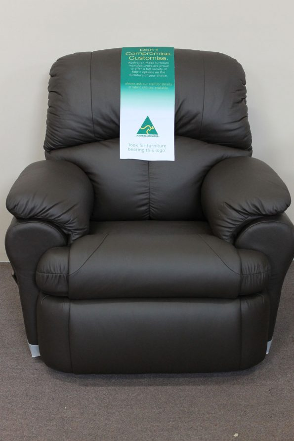 HAMPSHIRE LEATHER RECLINER – Choose a colour
