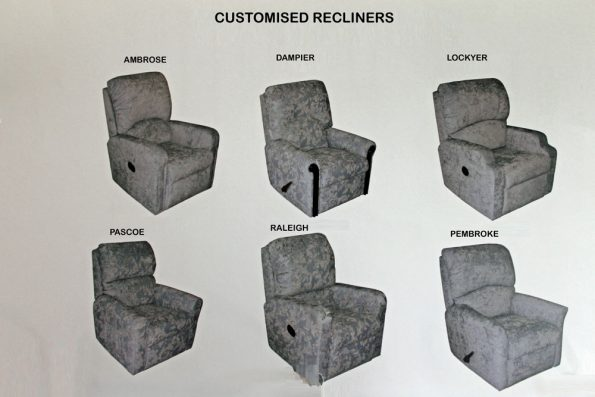A CUSTOMISED RECLINER OPTIONS