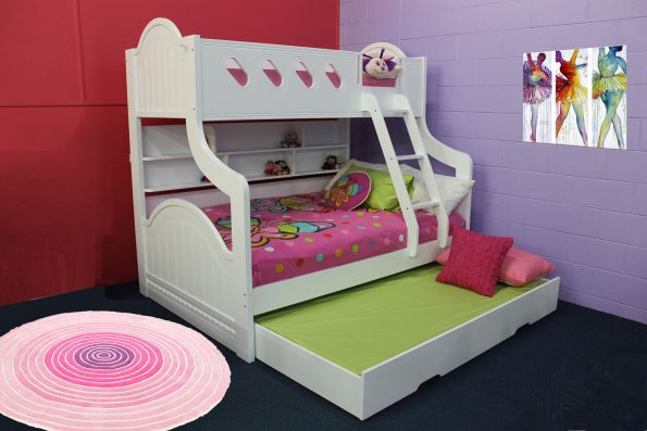 A SPRINGDALE DOUBLE BUNK with Trundle