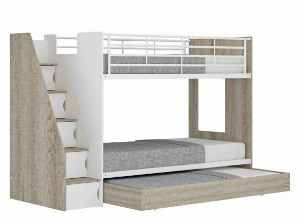 A AMITY BUNK WITH TRUNDLE & STORAGE