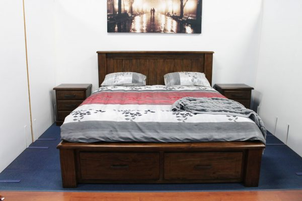 BANYO KING BED with DRAWERS