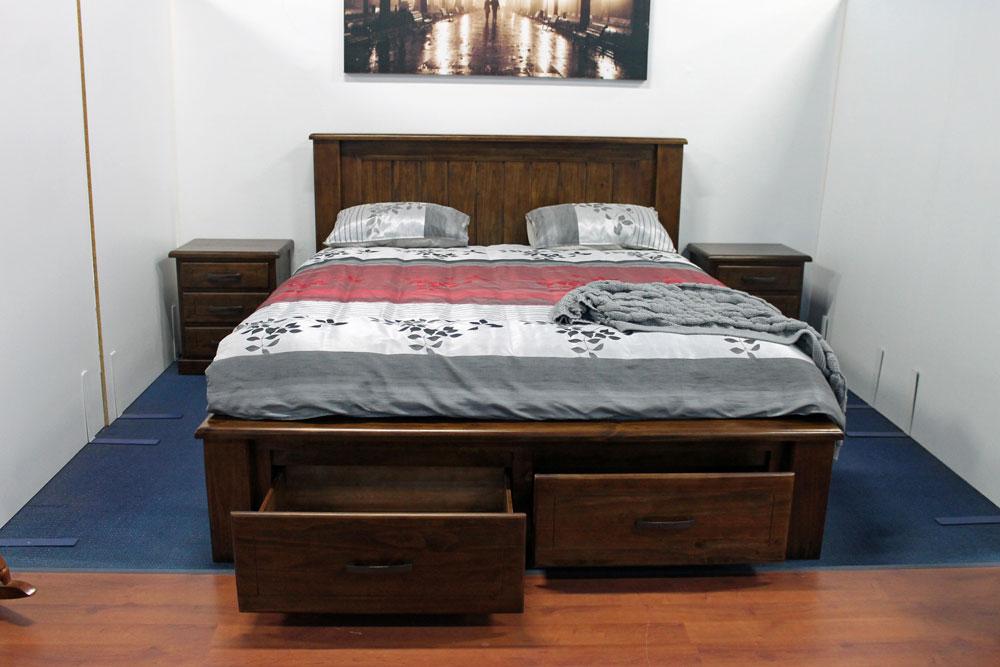 Banyo King Bed With Storage Hardings Furniture