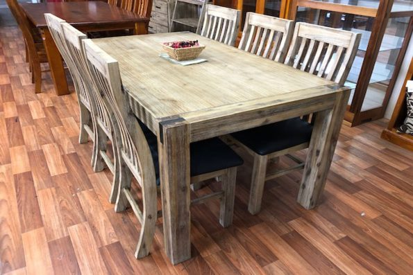 SUNBURY 7 PIECE DINING