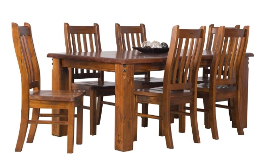 FLETCHER 7 PIECE DINING SUITE