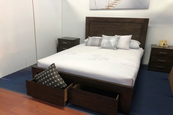 QUORN BED with DRAWERS