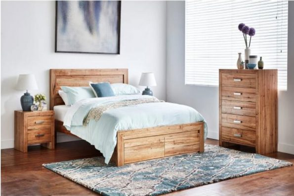 AMY BED WITH DRAWERS